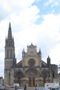 Cathédrale Saint jean Baptiste de Bazas en Gironde